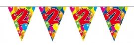Vlaggenlijn, Slinger Balloons 2 Jaar 10Mtr
