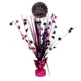 Tafelstuk Sparkling Pink Happy Birthday