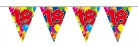 Vlaggenlijn, Slinger Balloons 18 Jaar /10Mtr