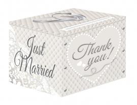 Enveloppendoos Just Married