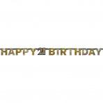 Letterslinger Sparkling Gold 21 jaar