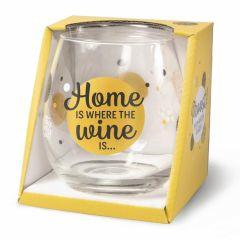 Wijn/waterglas - Home