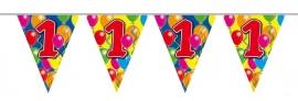 Vlaggenlijn, Slinger Balloons 1 Jaar /10Mtr