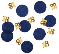 Confetti Elegant True Blue 18 jaar