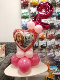 Folieballon met cijfer