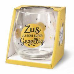 Wijn/waterglas - Zus