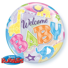 BUBBLE Welcome Baby Animal Patterns-56cm -Artikelnummer: 25898