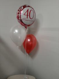tros met folieballon
