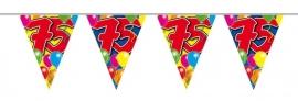 Vlaggenlijn, Slinger Balloons 75 Jaar /10Mtr
