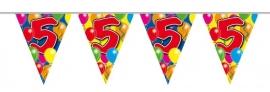 Vlaggenlijn, Slinger Balloons 5 Jaar 10Mtr