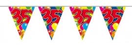 Vlaggenlijn, Slinger Balloons 35 Jaar /10Mtr