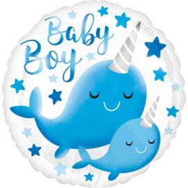baby boy 43cm  art.nr: 39634