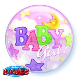BUBBLE Baby Girl Moon & stars-56cm (1 Stuk) Artikelnummer: 23598