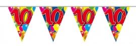 Vlaggenlijn, Slinger Balloons 10 Jaar /10Mtr