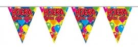 Vlaggenlijn, Slinger Balloons Ik ben jarig /10Mtr