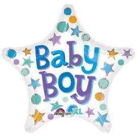 Baby Boy Stars - 45cm  Art.nr: 33641