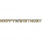 Letterslinger Sparkling Gold 80 jaar