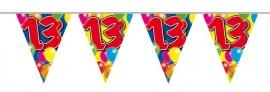 Vlaggenlijn, Slinger Balloons 13 Jaar /10Mtr