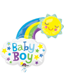boy happy sun 76x76cmcm Art.nr: 33658