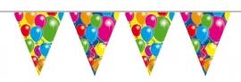Vlaggenlijn, Slinger Balloons zonder tekst /10Mtr
