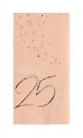 Servetten Happy 25th elegant blush