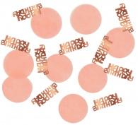 Confetti Elegant Blush Happy Birthday