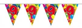 Vlaggenlijn, Slinger Balloons 9 Jaar 10Mtr