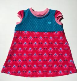 Babyjurkje roze rok maat 74
