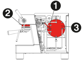 Ascaso BARISTA T ZERO 2 groeps espressomachine