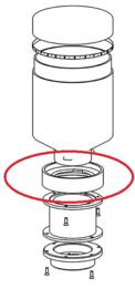 Ring reservoir QuickMill 2835/3035/031