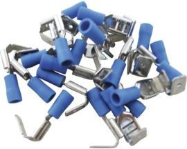 Kabelschoen F Verbinder Blauw 1,0-2,5mm