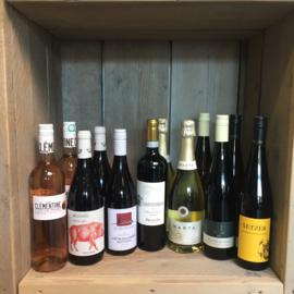 Wijnproefpakket 12 flessen Wilheminapark/Slangevegt/Nieuwe Kompas