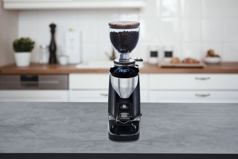 Bellezza Piccolo Grind-on-demand koffiemolen V2 (Black)