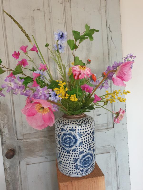 Vaas/gember pot Flower Dots