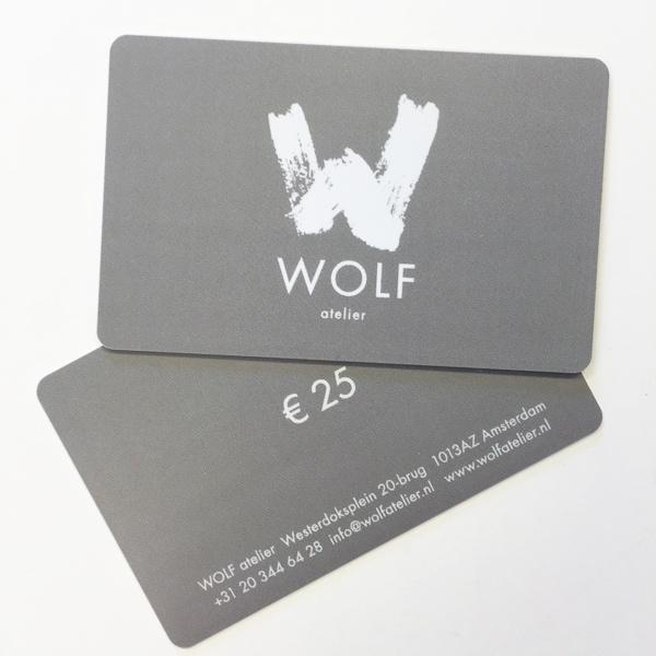 WOLF atelier dinner card