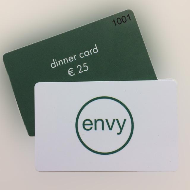 Dinner Card Envy