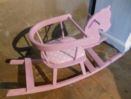 Hobbelpaard roze