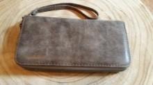 portemonnee grijs