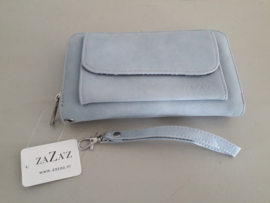 Licht blauwe portemonnee