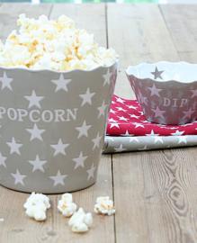 Popcorn bak taupe