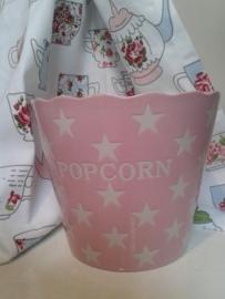 Popcorn bak roze