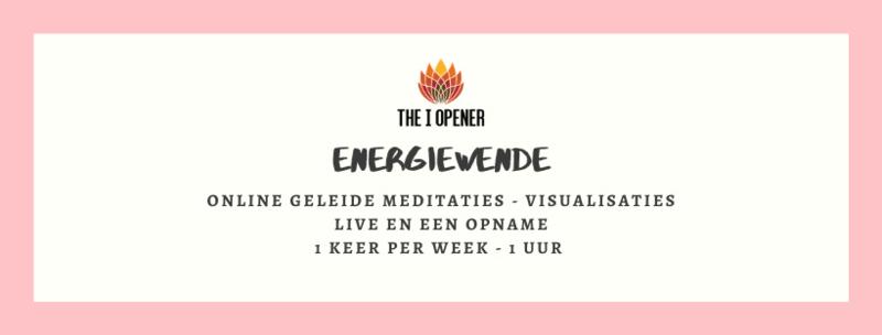 Online live  Energiewende - geleide meditaties, visualisaties