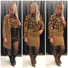 Blouse brown fall