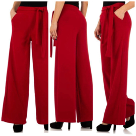 Broek Nelly rood