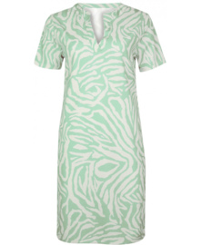Dress pipa mint zebra