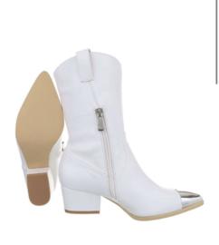Cowboylaars wit