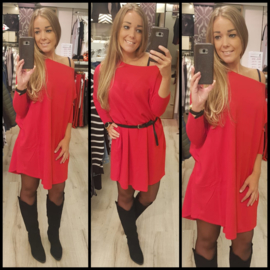 Oversized sweater marianna red