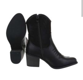 cowboylaarzen leatherlook
