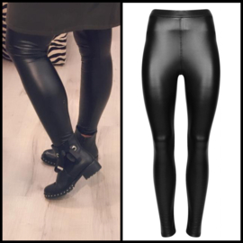 Legging leatherlook