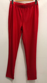 Trouser lois red mr344